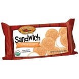 [Country Choice Organic] Sandwich Cookies Ginger Lemon Cremes  At least 95% Organic
