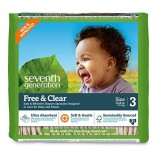 [Seventh Generation] Diapers Stage 3, 16-28 lb