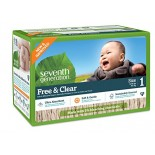 [Seventh Generation] Diapers Stage 1, Super Jumbo