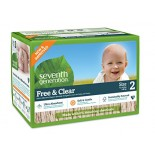 [Seventh Generation] Diapers Stage 2, Super Jumbo