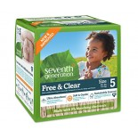 [Seventh Generation] Diapers Stage 5, Super Jumbo