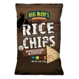[Real Mccoy`S] Rice Chips Worchester & Chive