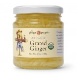 [Ginger People] Condiments Ginger, Grated  At least 95% Organic