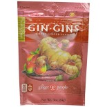 [Ginger People] Gin Gins Chews, Spicy Apple, Bag