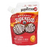 [Yumbutter] Pouch Peanut Butter Superfood  At least 95% Organic