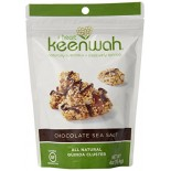 [I Heart Keenwah] All Natural Quinoa Cluster Chocolate Sea Salt