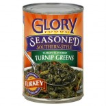 [Glory Foods] Seasoned Greens Turnip Greens, Seasoned Smoked Turkey