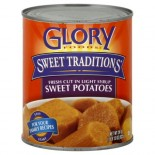 [Glory Foods] Seasoned Vegetables Sweet Potatoes, Cut