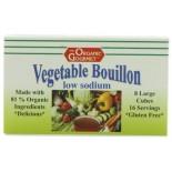 [Organic Gourmet] Instant Soup & Stock Bouillon Cubes, Low Salt (8 Cubes)