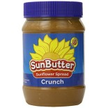 [Sunbutter] Natural Spreads/Nut Butters SunButter, Natural Crunch