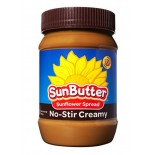 [Sunbutter] Natural Spreads/Nut Butters SunButter,Creamy, No Stir,Nat