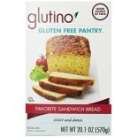 [Glutino] Mixes Favorite Sandwich Bread