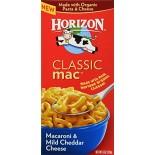 [Horizon] Classic Mac Macaroni & Mild Cheddar Cheese  At least 70% Organic