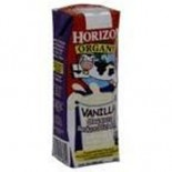 [Horizon] Shelf Stable, Aseptic Boxed Milk 1% Vanilla, Club Pack  At least 95% Organic