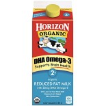 [Horizon] Ultra-Pasteurized Milk Reduced Fat - 2%, DHA Plus, Fortified  At least 95% Organic