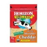 [Horizon] Cheese Cheddar, Shredded  At least 95% Organic