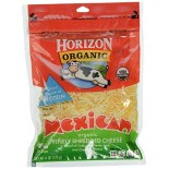 [Horizon] Cheese Mexican, Shredded  At least 95% Organic