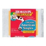 [Horizon] Cheese American, Single Slices  At least 95% Organic