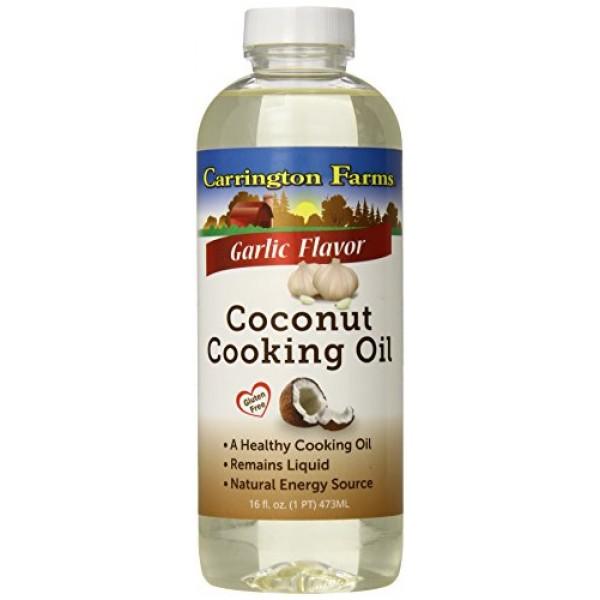 [Carrington Farms]  Coconut Cooking Oil, Garlic