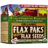[Carrington Farms]  Milled Flax Seeds  At least 95% Organic