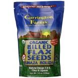 [Carrington Farms]  Milled Flax Seeds, Linaza Molida  At least 95% Organic