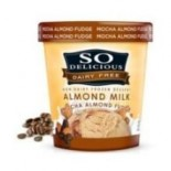 [So Delicious] Dairy Free Almond Milk Pints Mocha Almond Fudge