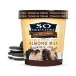 [So Delicious] Dairy Free Almond Milk Pints Cookies N` Cream