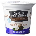 [So Delicious] Dairy Free & Soy Free Coconut Milk Yogurt Blueberry