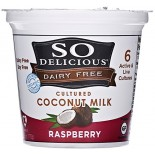 [So Delicious] Dairy Free & Soy Free Coconut Milk Yogurt Raspberry