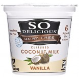 [So Delicious] Dairy Free & Soy Free Coconut Milk Yogurt Vanilla