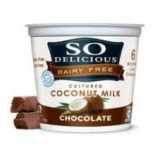 [So Delicious] Dairy Free & Soy Free Coconut Milk Yogurt Chocolate