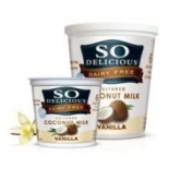 [So Delicious] Dairy Free & Soy Free Coconut Milk Yogurt Vanilla  At least 70% Organic
