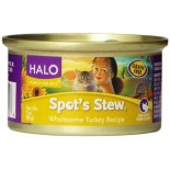 [Halo] Spots Stew - Canned Cat Food Wholesome Turkey