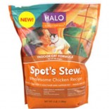 [Halo] Spots Stew - Dry Cat Food Wholesome Chicken, Indoor Cat