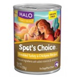 [Halo] Spots Choice Grain Free Canned Dog Food Turkey & Chickpea