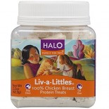 [Halo] Liv-A-Littles Protein Treats Chicken Breast, Freeze Dried