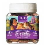 [Halo] Liv-A-Littles Protein Treats Farm Raised Rabbit