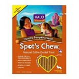 [Halo] Spots Chew Dental Treats Pumpkin, Dog