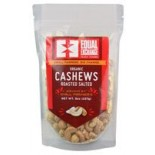 [Equal Exchange]  Roasted Salted Cashews  At least 95% Organic