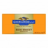 [Ghirardelli] Baking Bars Semi Sweet Chocolate