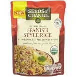 [Seeds Of Change] Ready To Heat Rice Spanish w/Quinoa/Rd Pprs/Corn  At least 95% Organic