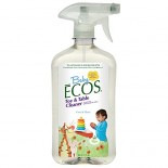 [Earth Friendly Products] Ecos Baby Disney Toy & Table Cleaner, Free/Clear
