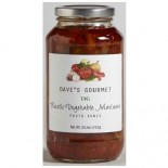 [Dave`S Gourmet] Pasta Sauce Rustic Vegetable, Low Sodium