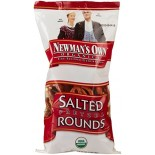 [Newman`S Own Organics] Snacks Chips/Pretzels/Dips Rounds, Salted  At least 95% Organic