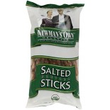 [Newman`S Own Organics] Snacks Chips/Pretzels/Dips Sticks, Salted  At least 95% Organic