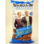 [Newman`S Own Organics] Pretzels Rounds, Unsalted  At least 95% Organic