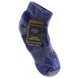 [Maggie`S Organics] Organic Wool Socks Ankle, Purple 10-13