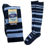 [Maggie`S Organics] Organic Knee Hi Socks Cushion, Blue 9-11