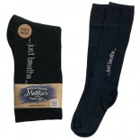 [Maggie`S Organics] Organic Mantra Socks Just Breathe, Black 9-11
