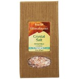 [Aloha Bay] Himalayan Crystal Salt, Coarse For Ceramic Salt Mills, Decor Pkg